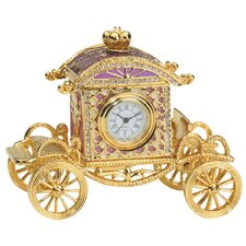 Collectible Renaissance Carriage Box