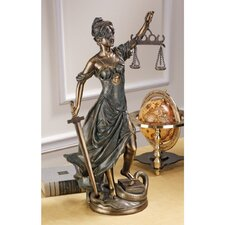Goddess of Justice Themis Statue