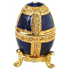 Anya Faberge Style Collectible Enameled Egg