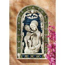 Madonna and Child Bas-Relief Wall Décor