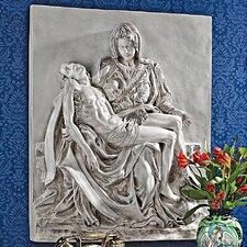 Pieta Sculptural Wall Décor