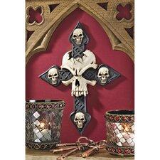 Spellbound Skull Cross Wall Décor