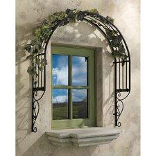 Thornbury Ornamental Garden Window Trellis Wall Decor
