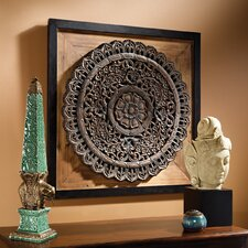 Bali Lotus Sculptural Wall Décor