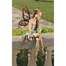 Fannie, the Fairy Sitting Statue