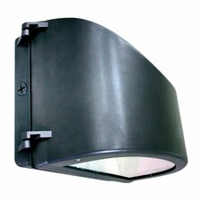 150w MH MT Curved Cut-Off Wall Light in Bronze