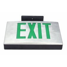 LED Exit Sign in Red Letter