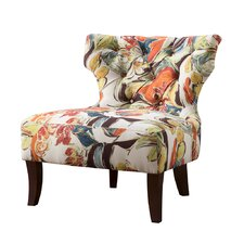Erika Hourglass Tufted Side Chair