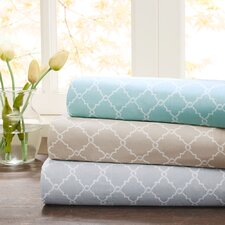 Fretwork 200 Thread Count Cotton Sheet Set