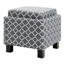 Shelley Square Storage Cube Ottoman