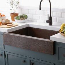 """Renewal 33"""" x 22"""" Paragon Copper Kitchen Sink"""