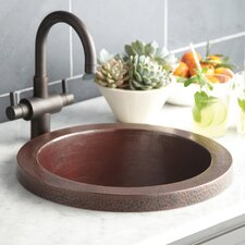 "16"" x 16"" Mojito Copper Bar Sink"