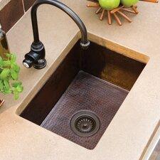 """Cocina 21.5"""" x 16"""" Copper Kitchen Sink"""