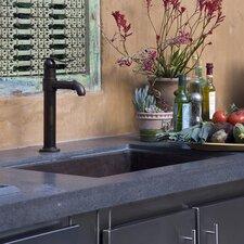 """Cocina 33"""" x 22"""" Copper Kitchen Sink"""