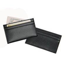 Slim Genuine Leather Business Card Holder