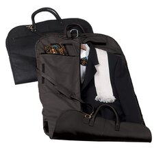 Royce Leather Garment Bag Travel Luggage in Genuine Leather