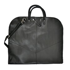 Vegan Leather Garment Cover Suit Bag