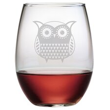 21 Oz. Stemless Wine Glass (Set of 4)