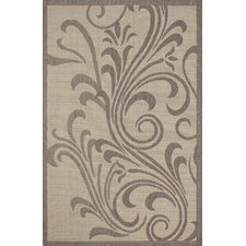 Bahamas Light Brown Outdoor Area Rug