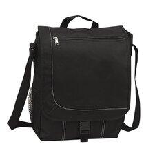 """11"""" Messenger Bag with 1 Zippered Pocket & 1 Mesh Pocket (Set of 2)"""
