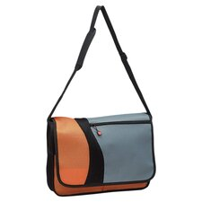 "15.5"" Messenger Bag with 2 Exterior Pockets"
