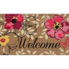 Naturelles Floral Paradise Doormat