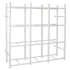 "12 Tote Storage System 69"" H 4 Shelf Shelving Unit"