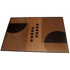 Geometrix Beige Indoor/Outdoor Area Rug