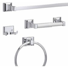Sunglow 4 Piece Bathroom Hardware Set