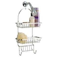 Jumbo Shower Caddy with Square Basket