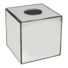 Crystal Mirror Tissue Box