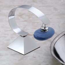 Deluxe Magnetic Soap Holder with Pyramid Base