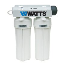 Three Stage Under Counter UV-R Filtration System