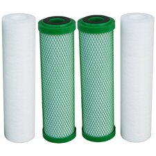 Two Stage Green Carbon Annual Filter Kit