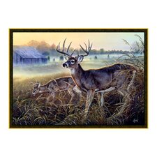 Wildlife Boy's Club Brown Novelty Oudoor Area Rug