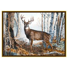 Wildlife Whitetail Novelty Outdoor Area Rug