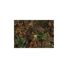 Wildlife Mixed Pine Novelty Outdoor Area Rug