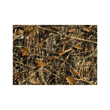 Wildlife Concealed Brown Camo Novelty Oudoor Area Rug