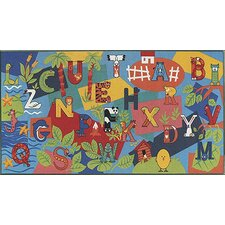 Children's Play Alpha Area Rug