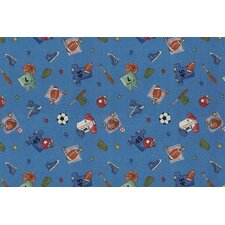 Children's Play Ball Area Rug