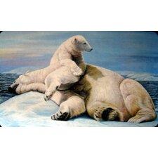 Polar Bears Doormat