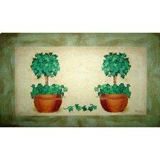 Topiary Pot Doormat
