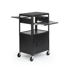 Adjustable AV Cart