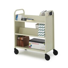 Voyager Series Double-Sided Book Cart