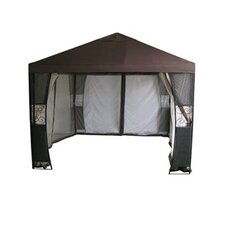 10 Ft. W x 10 Ft. D Steel Gazebo