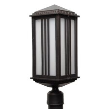 "Parisian Elegance 1 Light 19.5"" Cast Aluminum Post Lantern"