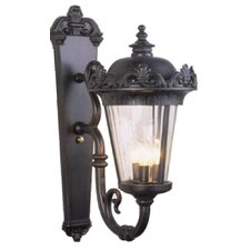 Parisian Elegance 3 Light Wall Lantern