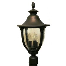 "Tuscany 4 Light 16.5"" Post Lantern"