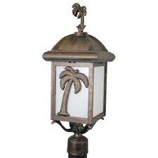 "Americana Palm Tree Series 1 Light 25"" Post Lantern Head"