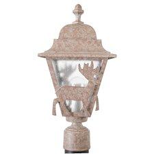 "Americana Deer Series 1 Light 18"" Post Lantern"